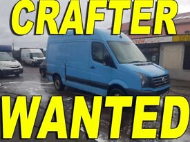 Wanted Volkswagen Crafter Any Year Any Condition!!!
