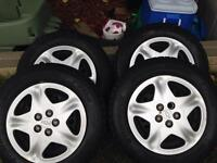 Hankook winter tires and rims 195/65 R15