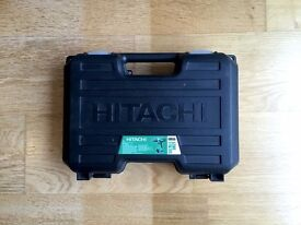 Hitachi 18v Li-ion Combi-Drill (Body, Case & Charger) Good-Condition