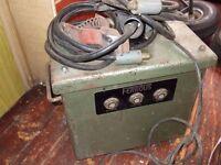 vintage oil filled welder / brazing