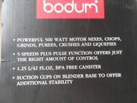 Bodum blender!