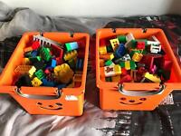 2 massive boxes of duplo