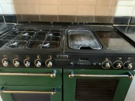 Rangemaster 110 Dual Fuel Stove and Extractor Fan