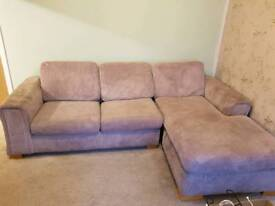 *PRICE DORP* 3 seater chez long sofa bed good condition