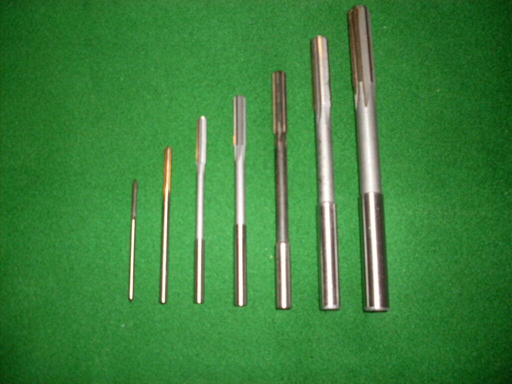 Maschinenreibahlen Zylinderschaft  DIN 212   Gigant       6 Stück  3-10 mm H7