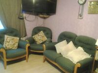 2 Seater Sofa & 2 chiars Sale