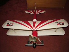 Precedent Bi-Fly 25 Radio Controlled Biplane + More