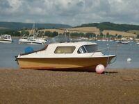 18ft Cabin Cruiser/Sea Fishing Boat.