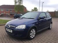 Vauxhall corsa 1.2 sxi + 2006 1 owner from new