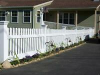 VINYL FENCE End of the Season Sale