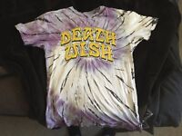Death Wish Tie-Dye T- Shirt- Medium and in Excellent Condition