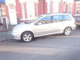 Peugeot 307SW 1.6HDI 2005 Silver