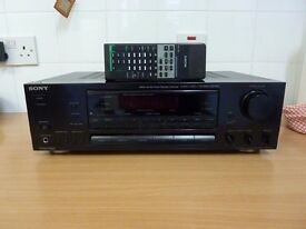 Sony amplifier STR-D511 digital delayed dolby prologic surround audio/video control centre
