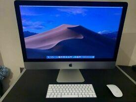 27 inch Slim Apple iMac 3.2Ghz Quad Core i5 16GB Ram 1TB HDD VectorWorks DaVinci Resolve Studio