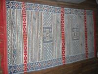 Beuatiful Authentic Morrocan Rug 41 x 75 Inches