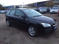 2008 (57) FORD FOCUS GHIA 2.0TDCI 6 SPEED 5 DOOR BLACK FULLY LOADED LEATHER FULL SERVICE HISTORY