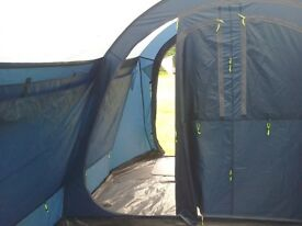 Outwell Pheonix 4 (priviledge range) Tent with Outwell carpet & footprint