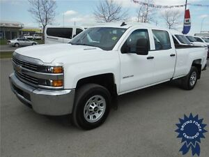 2016 Chevrolet Silverado 3500HD - Crew - Diesel - 8 Ft Long Box