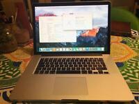 """MacBook Pro 15"""" Retina, Mid 2014, 2.5Ghz Quad core i7, 16GB Ram, Intel Iris Pro/GeForce GT750 2GB"""