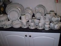 Royal Doulton Tapestry dinner/tea service.87 pieces.