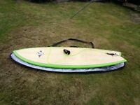 6ft 2in quad fish Surfboard for sale