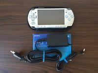 Sony PSP 2000 (silver) EU model + 8Gb memory card with games