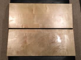 2 Ikea Shelves Pine effect