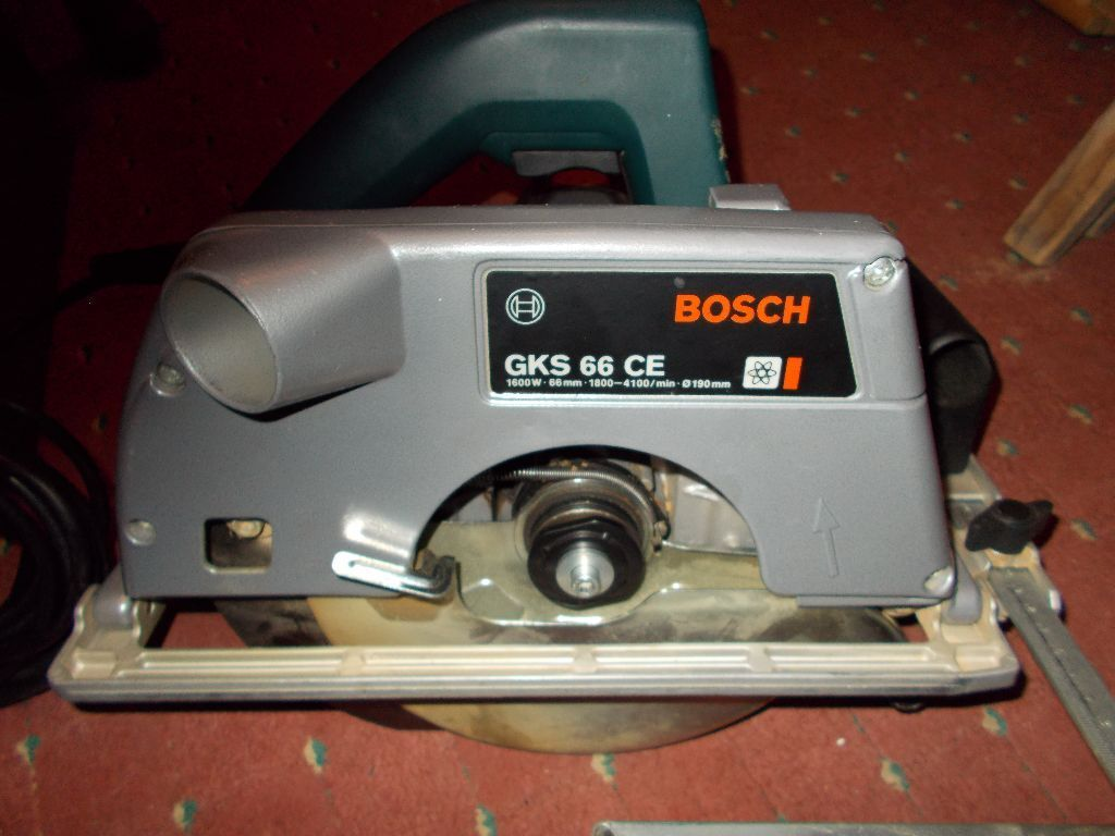 bosch gks 66 ce 190mm circular saw spares or repairs in wigton cumbria gumtree. Black Bedroom Furniture Sets. Home Design Ideas