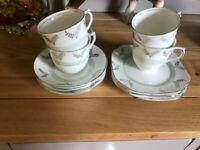 Art Deco Part China Tea Set