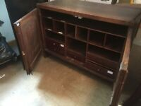 Antique small multi-drawer cabinet
