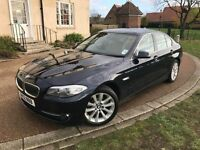 2012 BMW 520D *FSH, 1 KEEPER, HPI CLEAR, WARRANTY, FINANCE, CREAM LEATHER, EXTRAS, AUTOMATIC BARGAIN