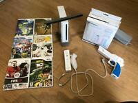 Nintendo Wii bundle with mario