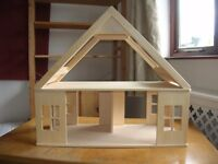 Dolls House: Early Learning Centre, My First Dolls House and 3 room sets in original box