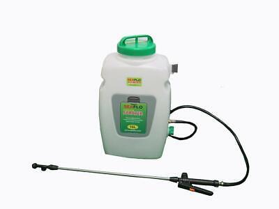 Electric Knapsack Garden Sprayer 16L (Backpack Weed Agriculture Cordless 12V)