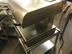 Heavy duty hatco salamander electric grill commercial catering kitchen equipment restaurant