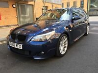 BMW 530d m sport (sport pack: gearbox with paddle shits and sport button)px welcome