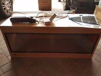 3ft Vivarium with heat mat and fermostat