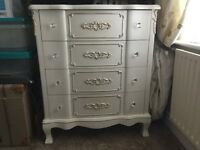 BEAUTIFUL SET OF FRENCH STYLE DRAWERS