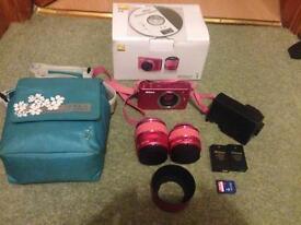 Nikon 1 pink