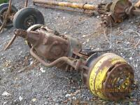 rockwell steering axle w/air brakes