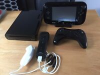 wii u with 7 games & 21 disney infinity characters