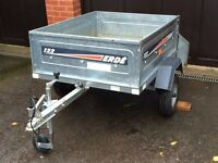 ERDE 122 Tipping Trailer