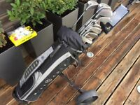 Ben Sayers, Howson, Taylor Made Golf Clubs, Nike Bag, Golf Trolley, great set up