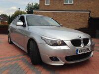 2009 BMW E60 535D M SPORT AUTO 286BHP FBMWSH 5 SERIES TWIN TURBO DIESEL