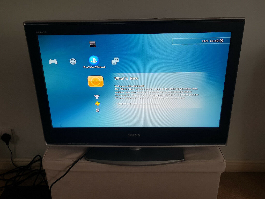 "32"" Sony Bravia LCD, HD Ready TV"