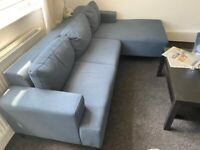 MADE sofa only ten months old and hardly used