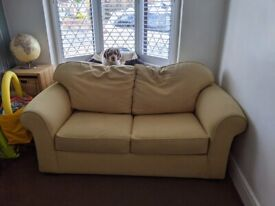 Double sofa bed with brand new mattress