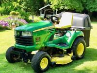 "John Deere X740 Ride On Mower - 48"" Deck & Collector - Lawnmower - countax/Kubota/Honda"