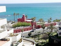 Benalmadena Spain Nice Apartment Malaga, sunny, 1st line, Rec 24 h. 4 giant swimming pools