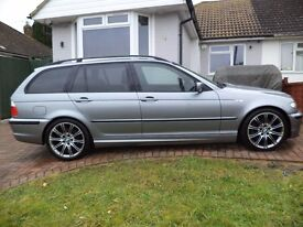 BMW 330D M SPORT AUTO CLEAN AND TIDY CAR